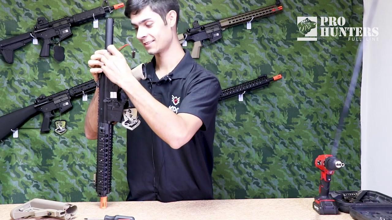 Démontage d'un boulon de marque Airsoft Rifle (AEG) – Armor Giliard