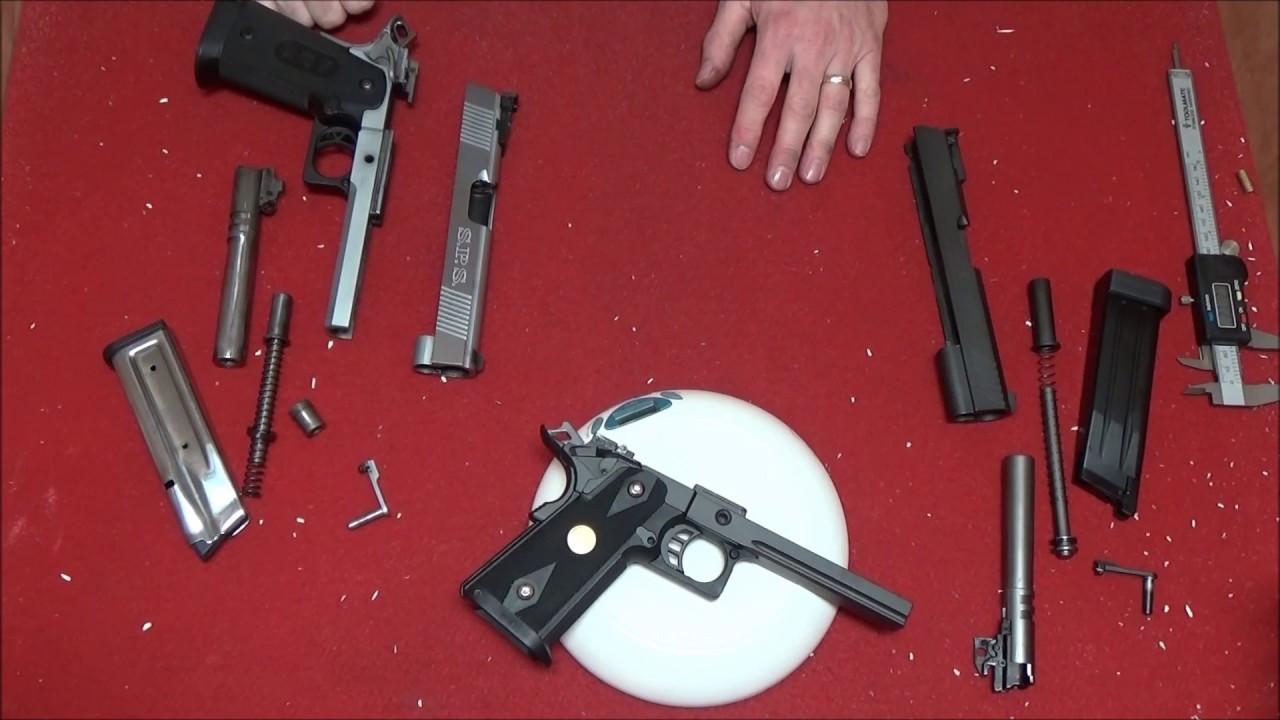 Comparaison airsoft vs pistolet réel – Pouvez-vous échanger des pièces? (longue)