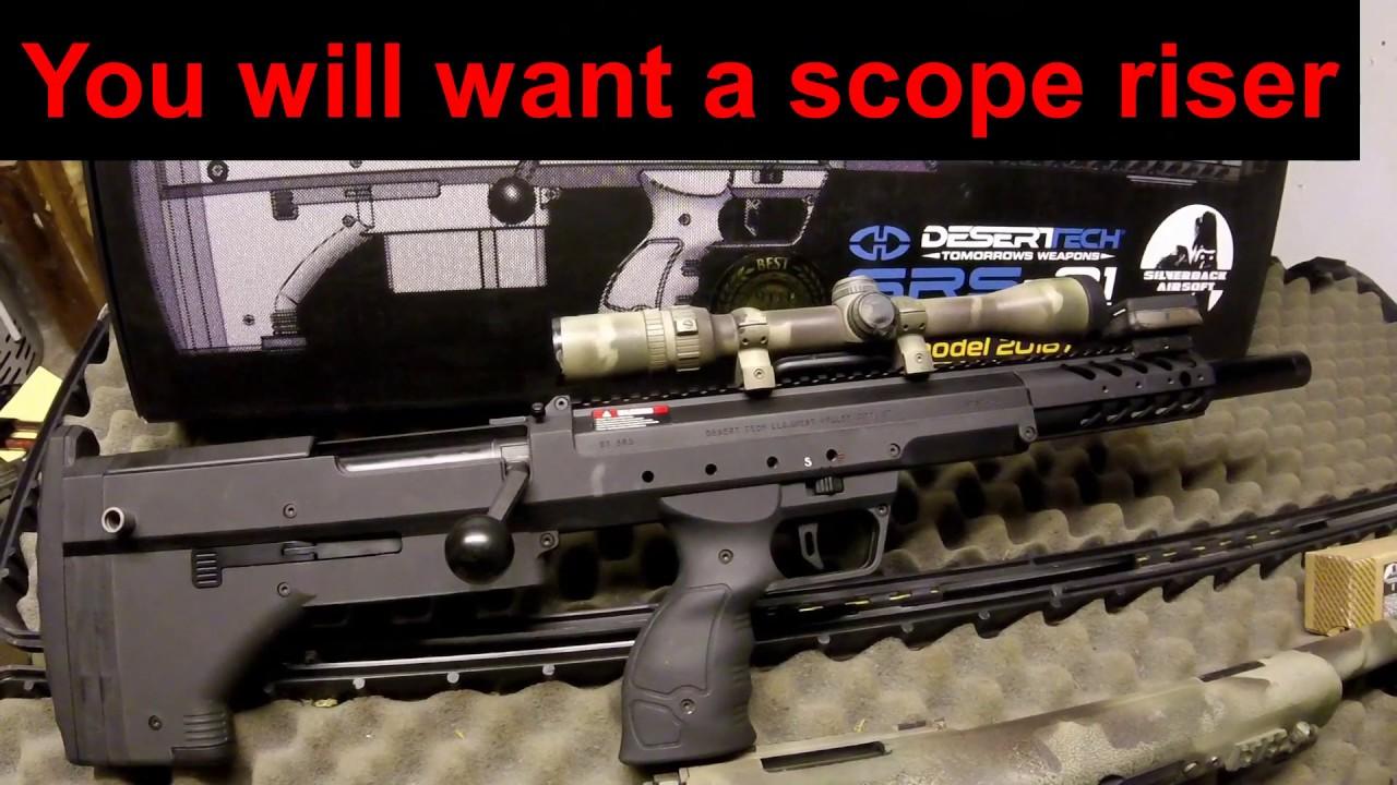 SRS Silverback Gen3 Review, Le meilleur sniper Airsoft Hors de la boîte!