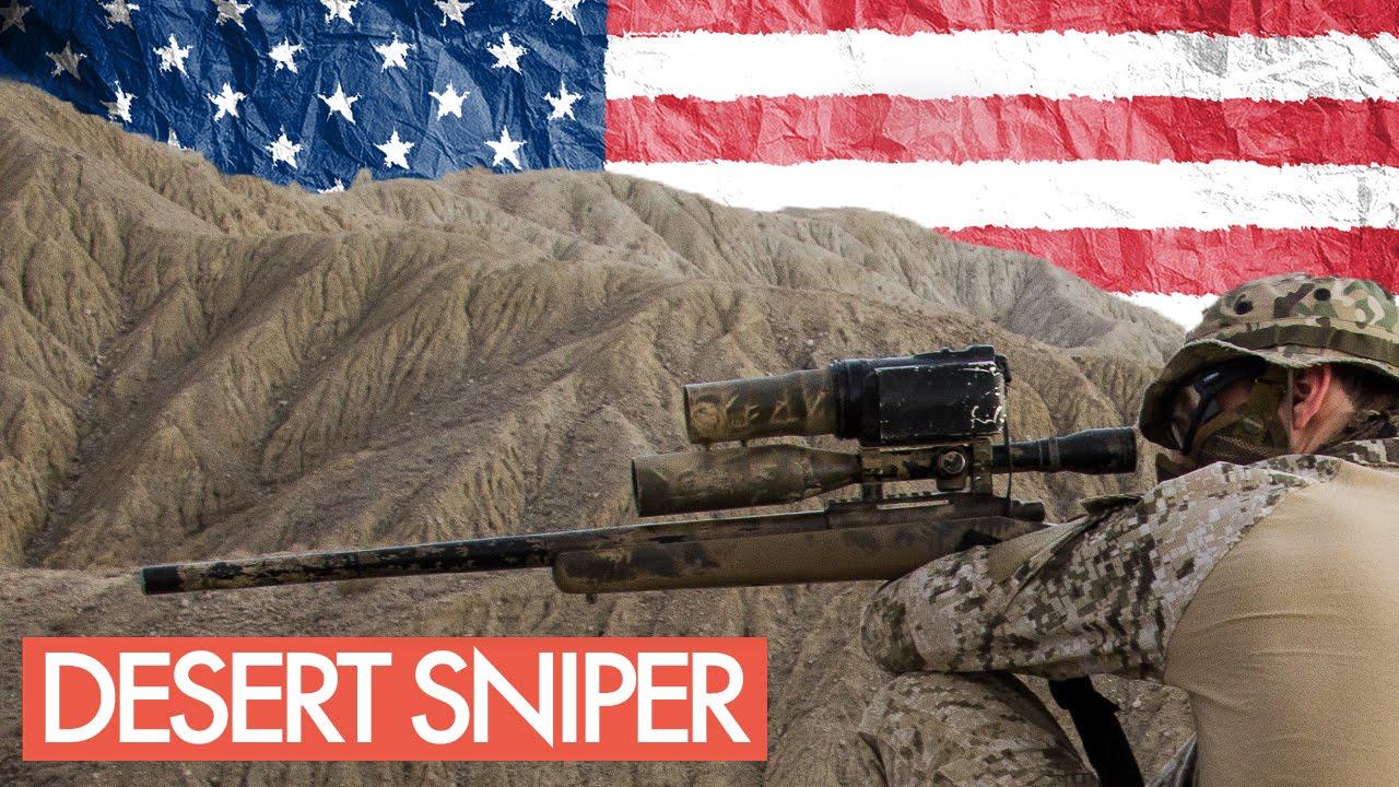 Airsoft Desert Sniper