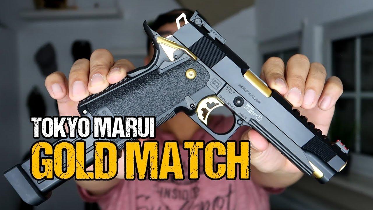 Tokyo Marui Hi Capa 5.1 GOLD MATCH | Revue Airsoft