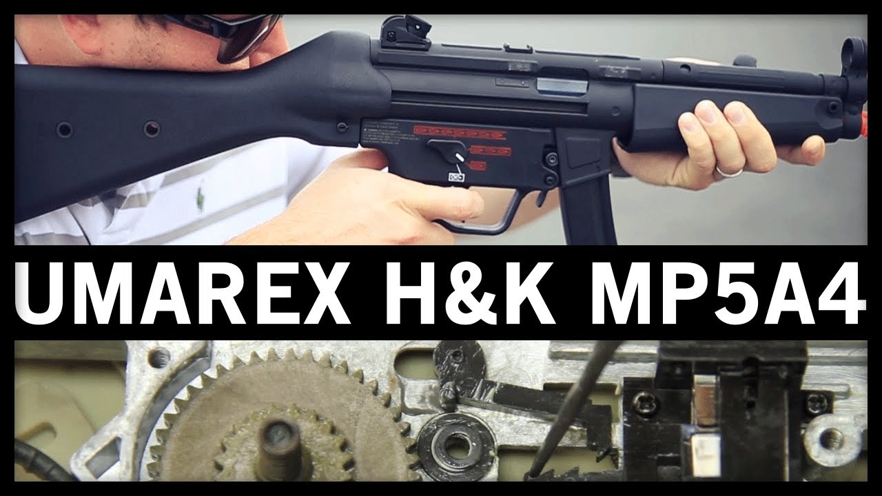 Airsoft GI – Umarex H & K MP5A4 de la revue des armes à feu VFC et de l'examen interne de la boîte d'engrenage