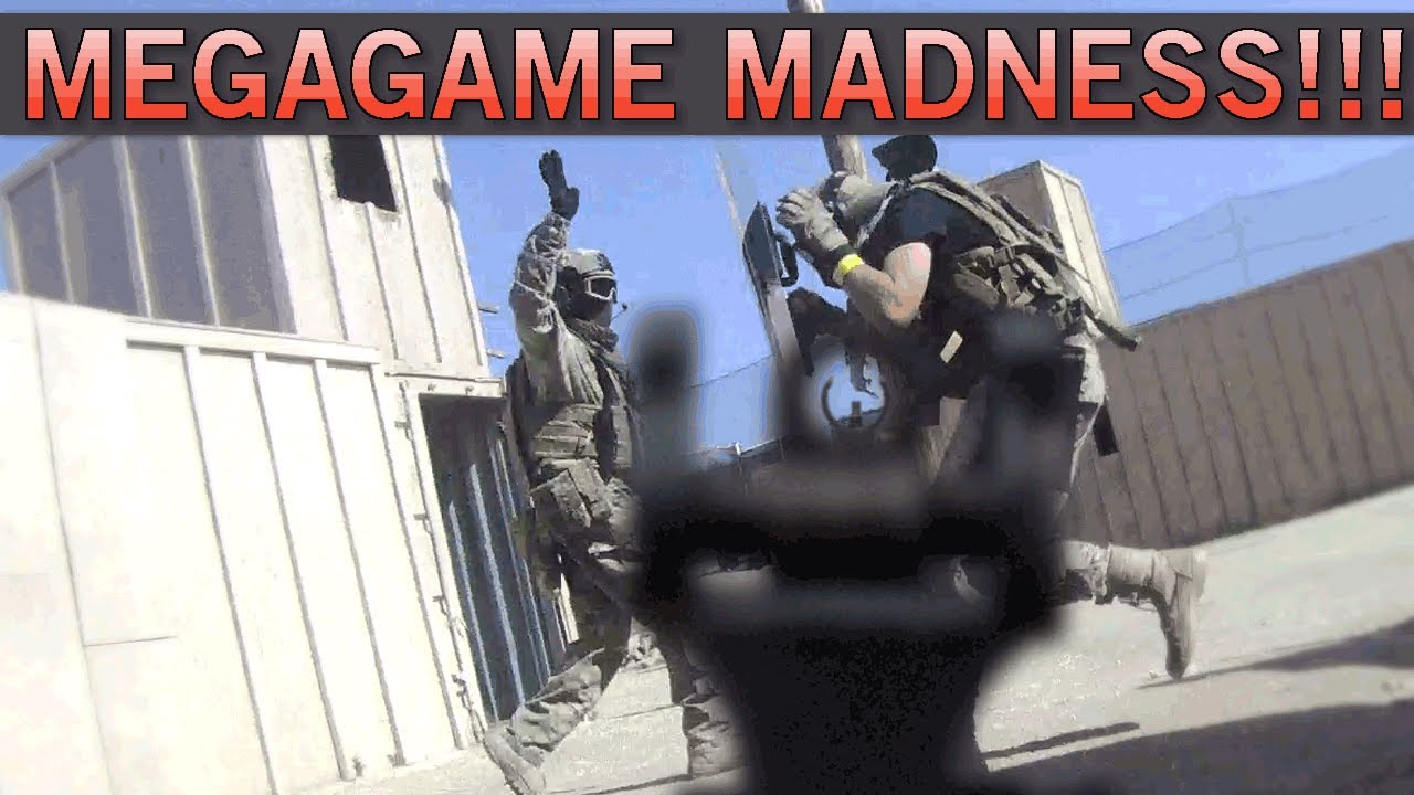 AIRSOFT MEGAGAME MADNESS !! – Beaucoup de victimes dans plus de 100 joueurs! (Airplay Gameplay GI)
