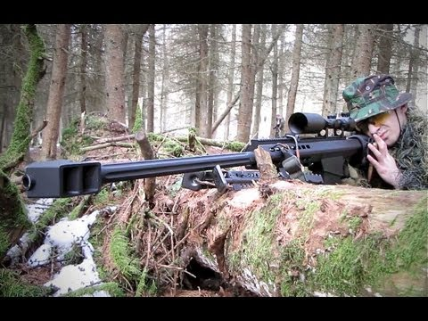 Airsoft War Sniper Action JG Bar 10, JG Snow Wolf Barrett Écosse