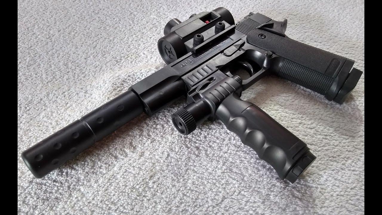 Pistolet AIRSOFT BB avec munitions pour balles en plastique – Unboxing & Review   Pour les enfants   Non létale   Pistolet à air comprimé