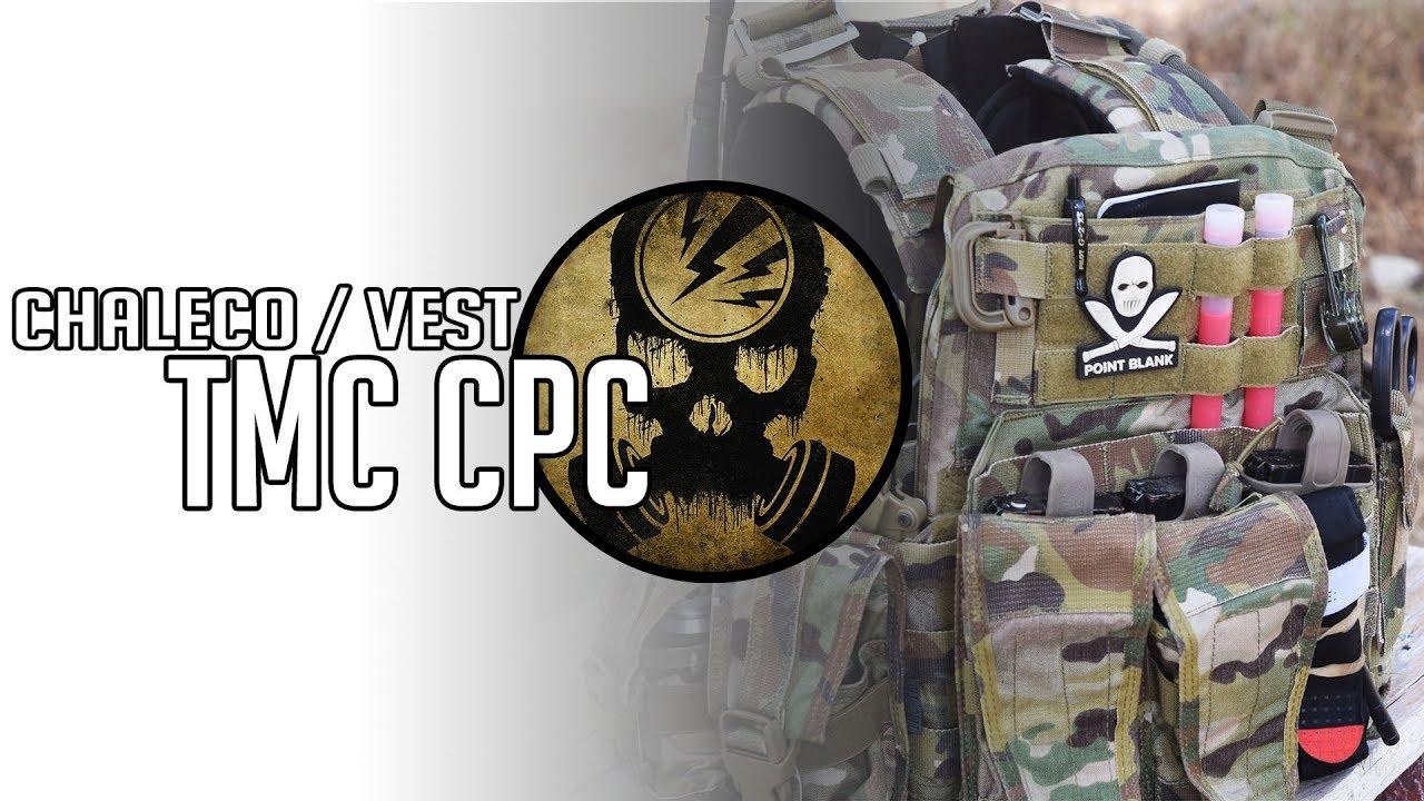 Porte-assiette de combat TMC · Test Airsoft [ENG SUBS]