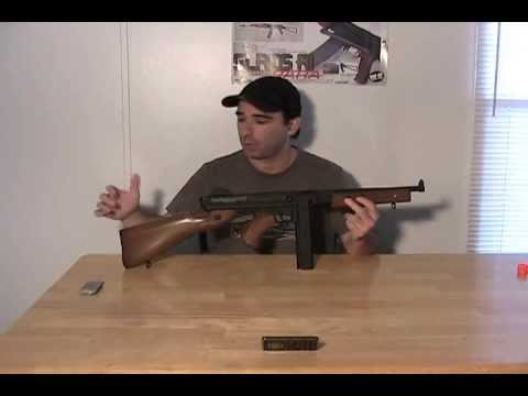 Thompson M1A1 AEG par Softair / Test Airberg de Cybergun