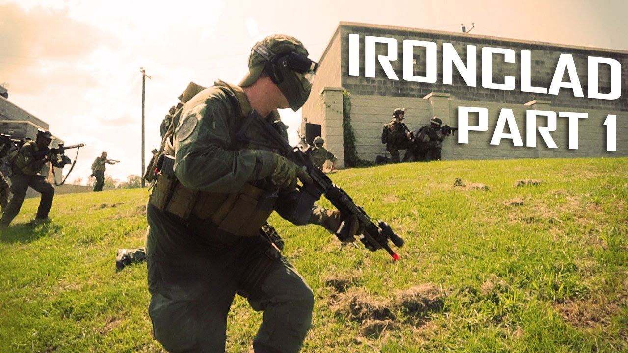 Airsoft Footage – Mitrailleuse légère Ironclad Pt. 1 – Airplay Gameplay GI