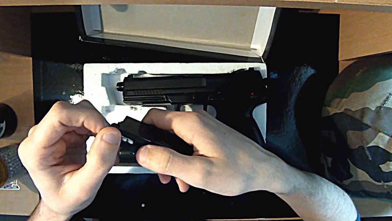 [FR] Review MK23 STTI Airsoft Gun GNB – By F4T4li$ [HD]