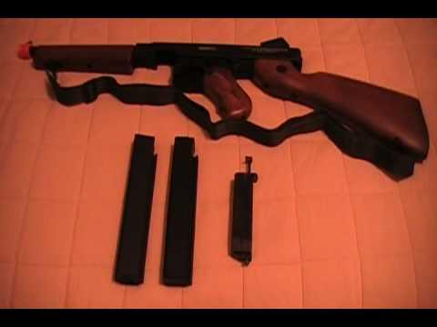 Thompson M1a1 de Cybergun / Avis de Softair Airsoft