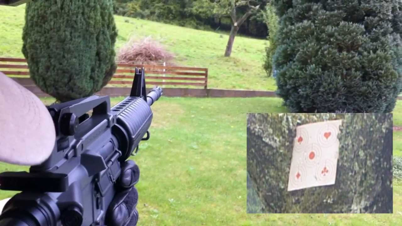 Airsoft Review M4 ICS (Fr)