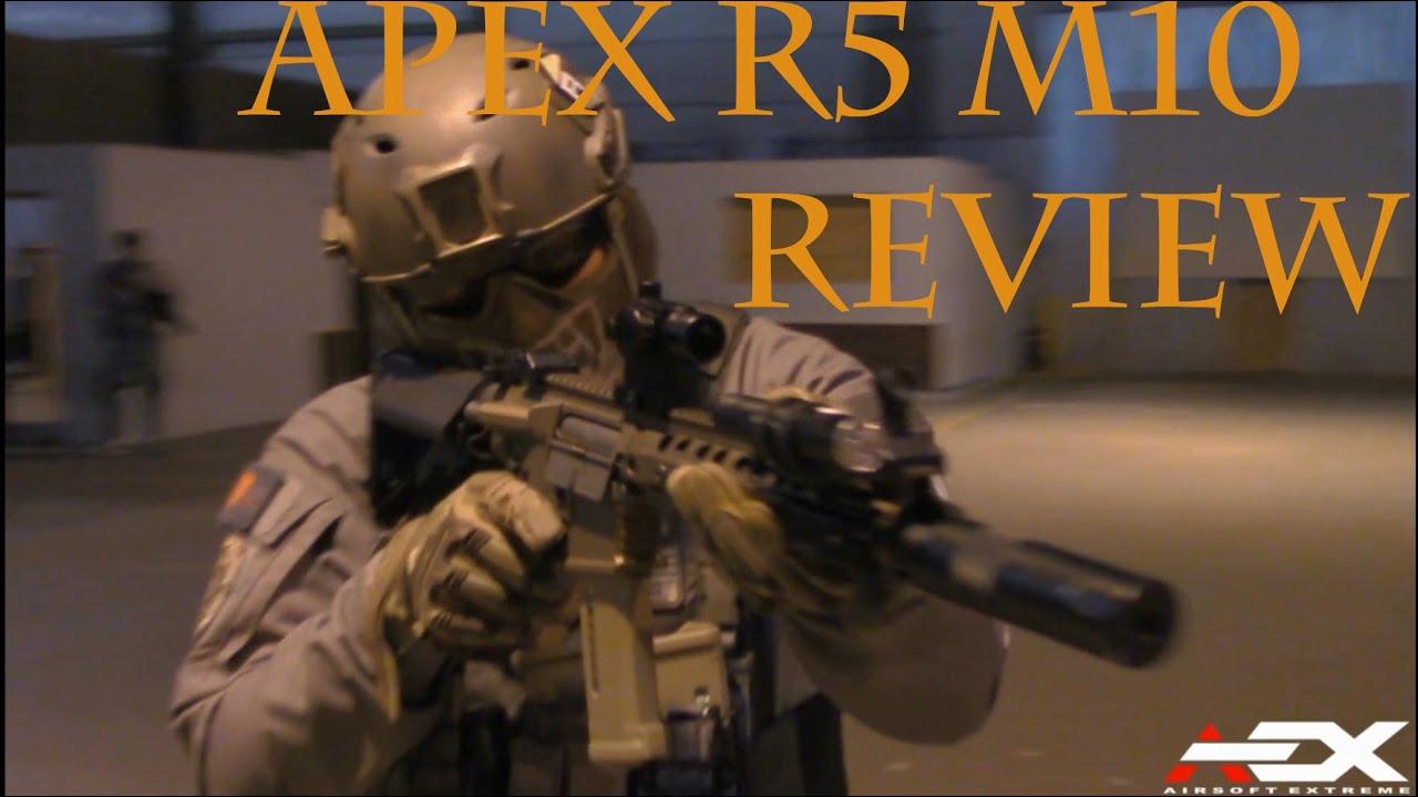Airsoft Gun Review: APEX R5 M10