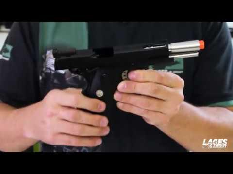 Test du pistolet 1911 Airsoft – Armement de l'armée R30