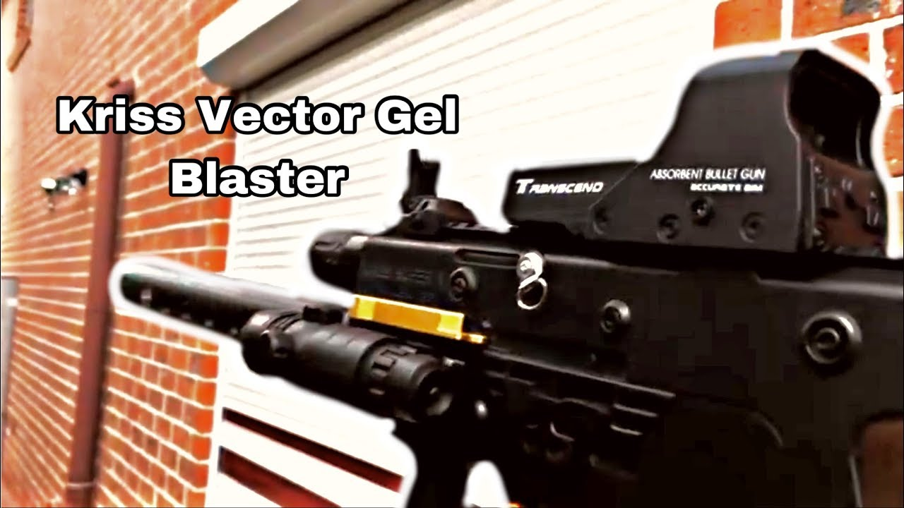 Pistolet À Gel Kriss Vector V1 [Review]