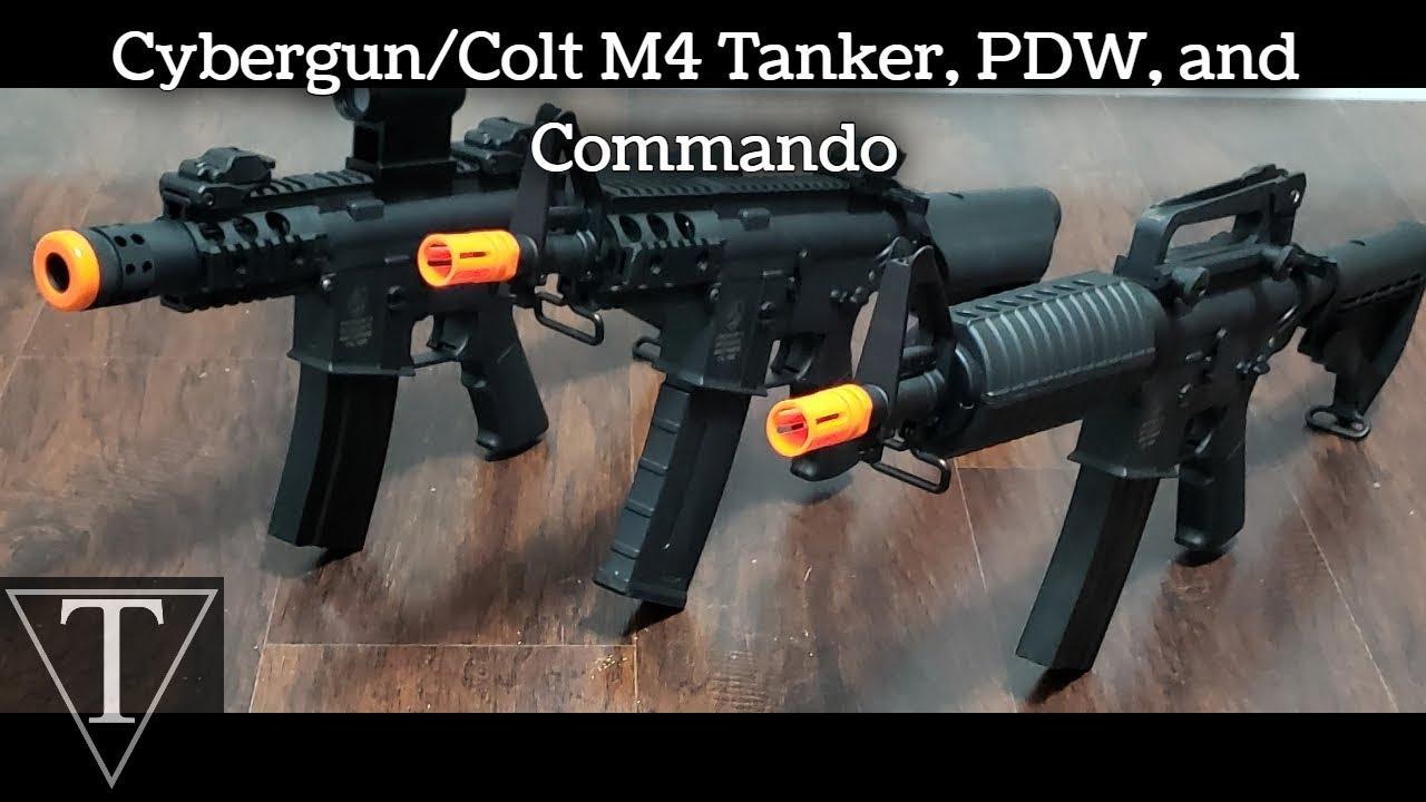 Commentaires de M4 PDW Tanker Commando – TriFecta Airsoft 34