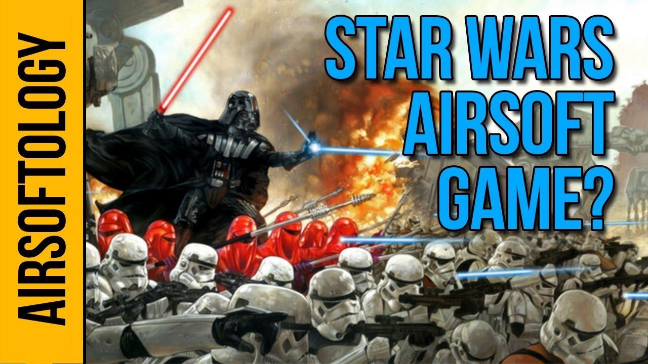 Un événement Airsoft de Star Wars? | Airsoftology Q & A