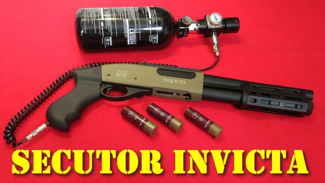 Airsoft – Secutor Invicta G-II gas shotgun [ENG sub]