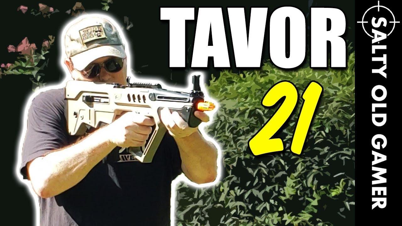 Série Elite Elite Force IWI Tavor 21 | SaltyOldGamer Airsoft Review