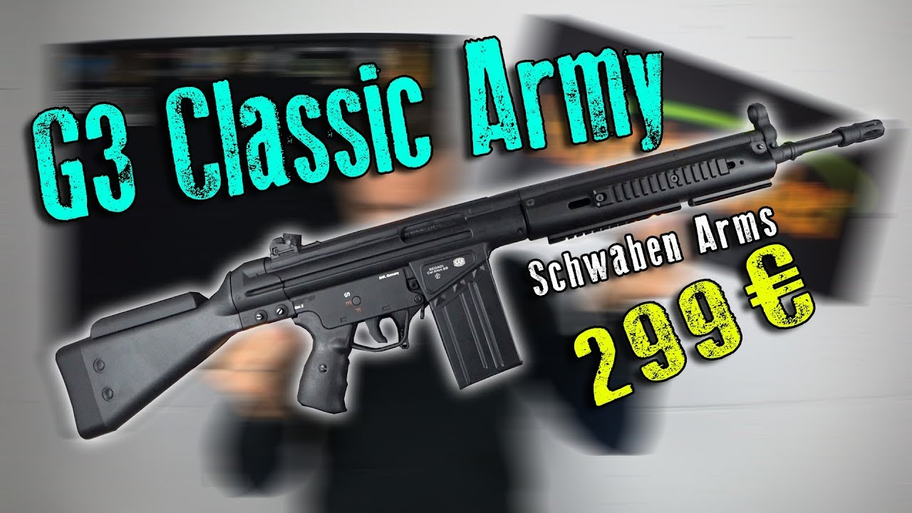 G3 Classic Army | Unboxing & Review | Highlander Airsoft