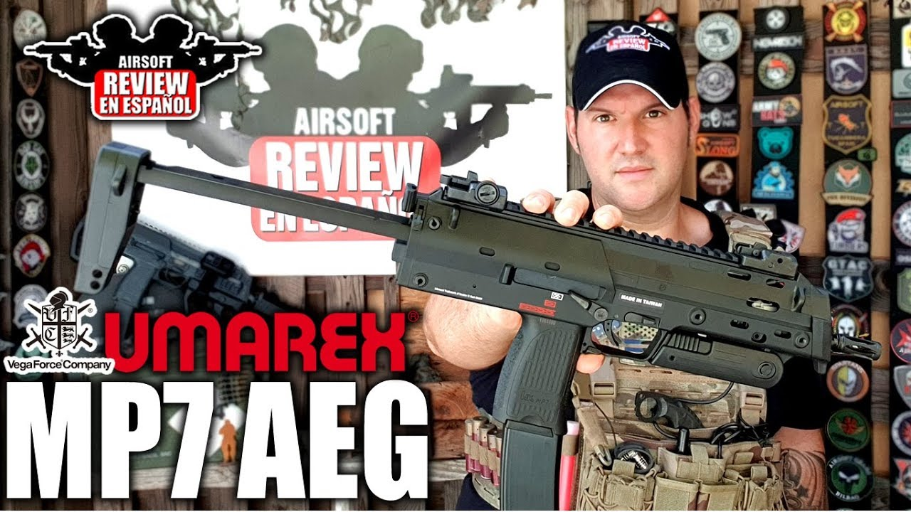 MP7 AEG UMAREX / VFC – La grande déception de 2019? | Airsoft Review en espagnol