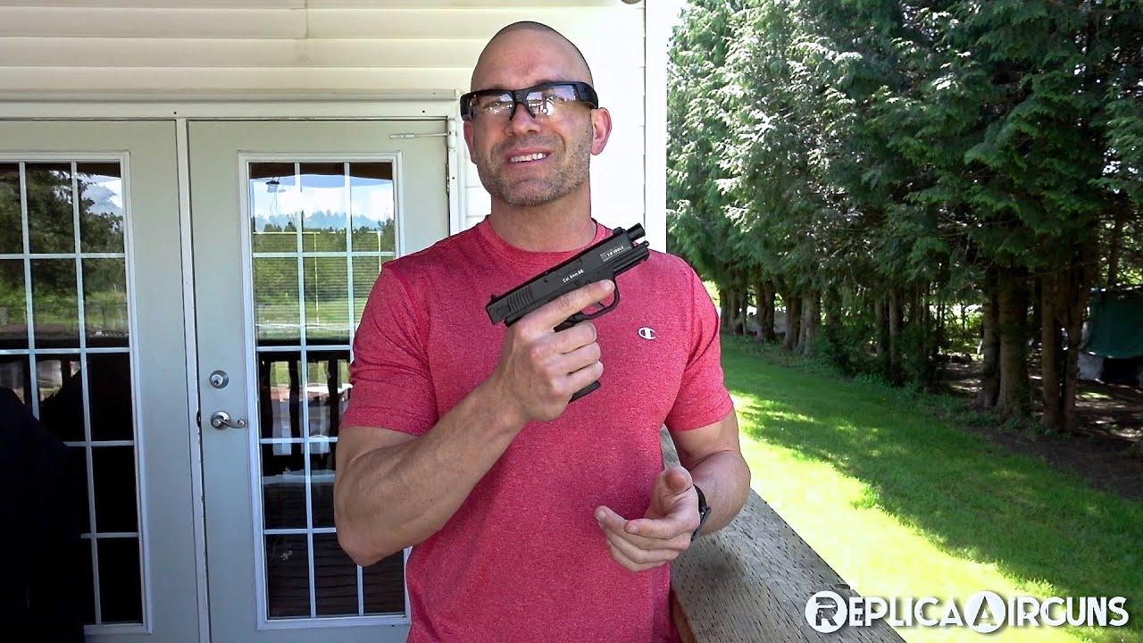 Test de tir au pistolet Airsoft CO2 ASG Bersa BP9CC CO2 – Test de tir