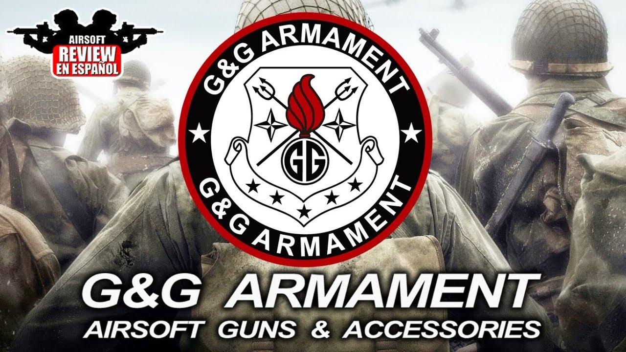 ARMEMENT G & G | Airsoft Review en espagnol