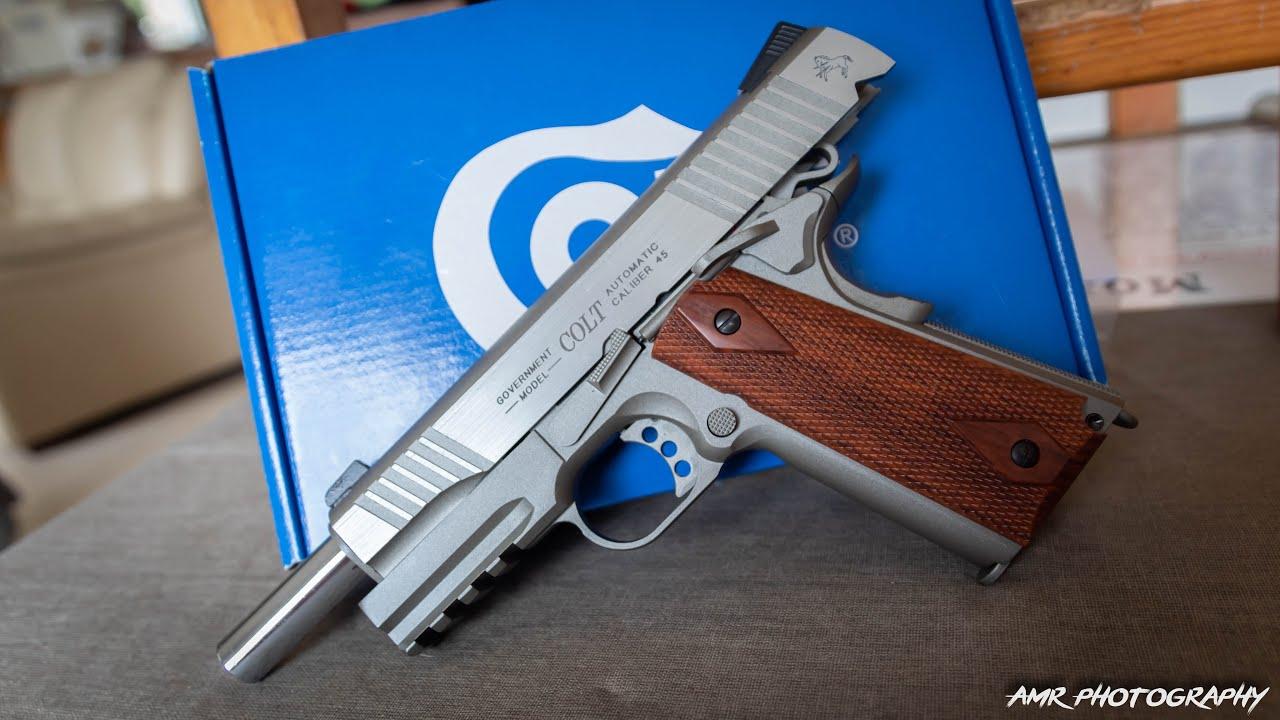 Colt 1911 Rail Gun CO2 – KWC/CYBERGUN Airsoft Review