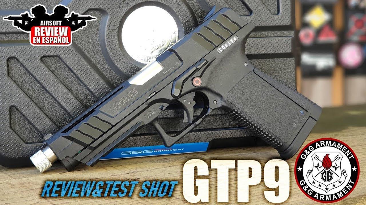 GTP9 GBB G & G Armament – Test & Test | Airsoft Review en espagnol