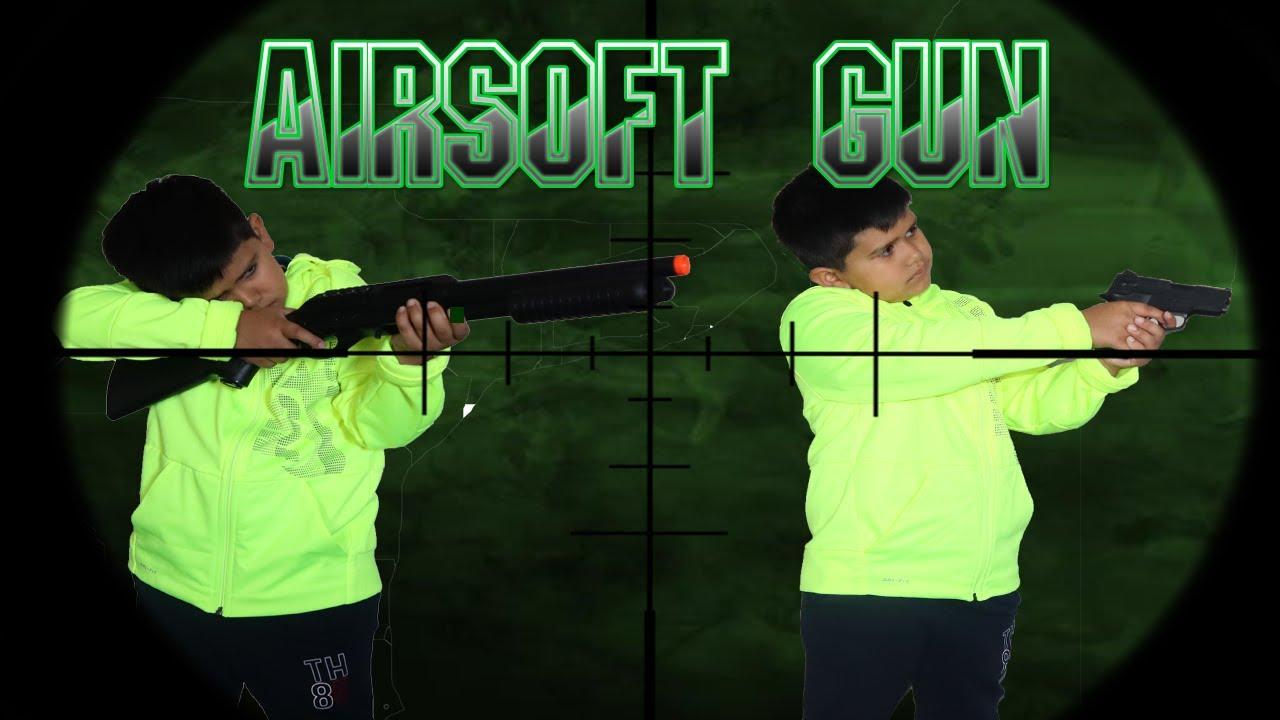 Manmeet Airsoft Gun Review