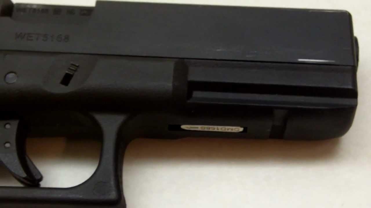 WE Glock 17 Airsoft Test