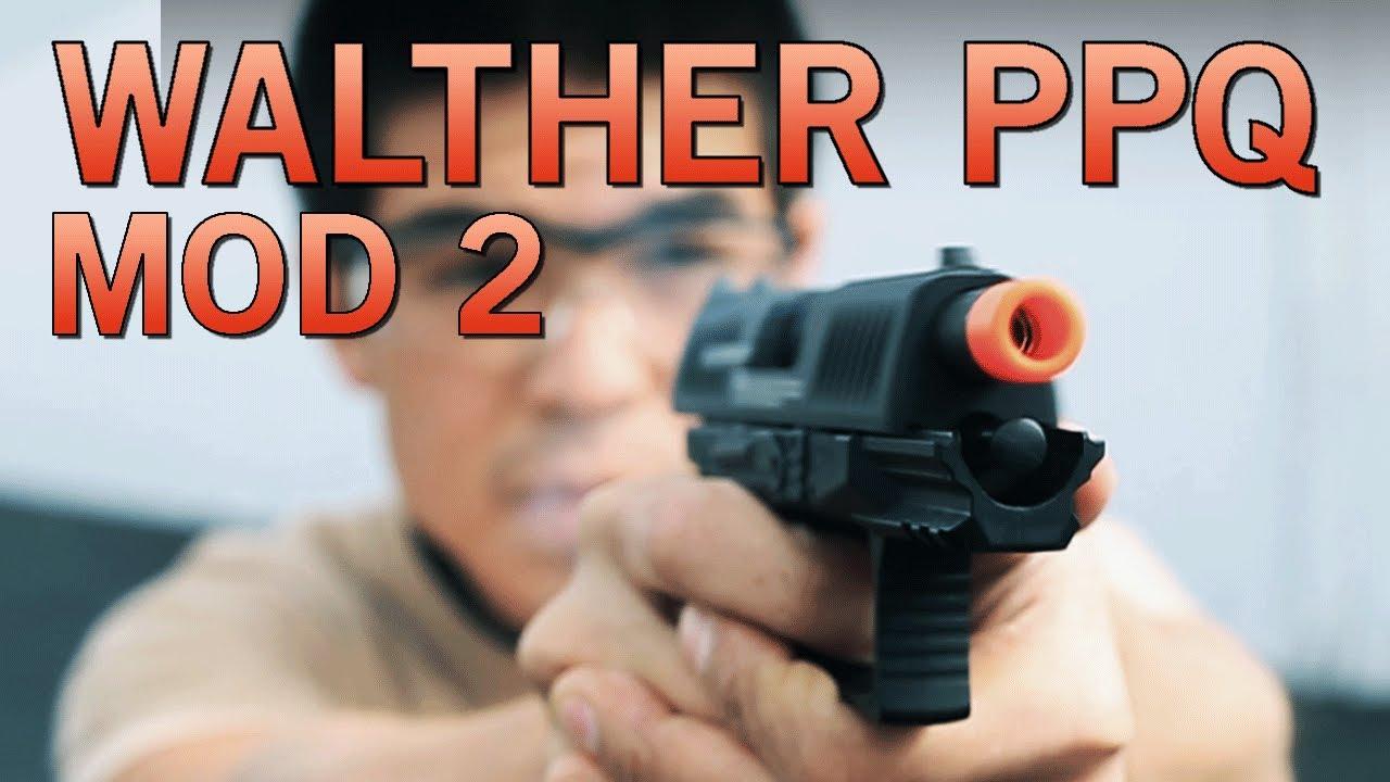Nouveau pistolet Airsoft à gaz à pompe Umarex Walther PPQ MOD 2 de VFC – Airsoft GI