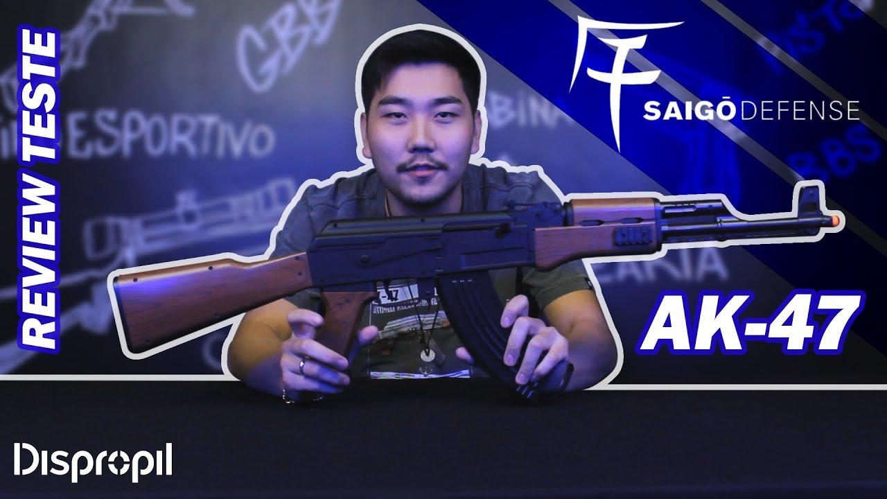 Aisoft Spring Saigo Defence AK-47 Rifle Review