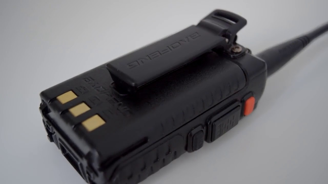 Baofeng UV 5r · Radio · Review · AIRSOFT
