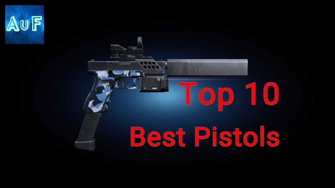 Les 10 meilleurs pistolets Airsoft