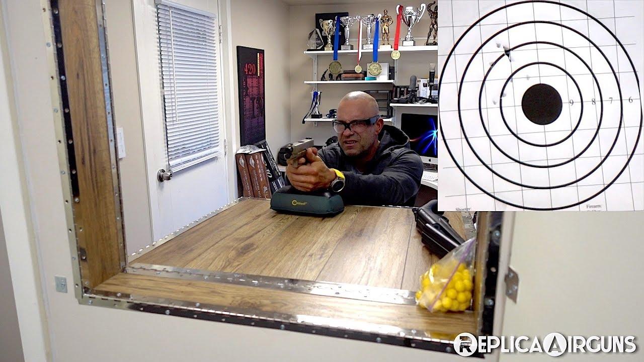Revue des essais sur le terrain du pistolet BB Blowback CO2 Umarex Glock 19X