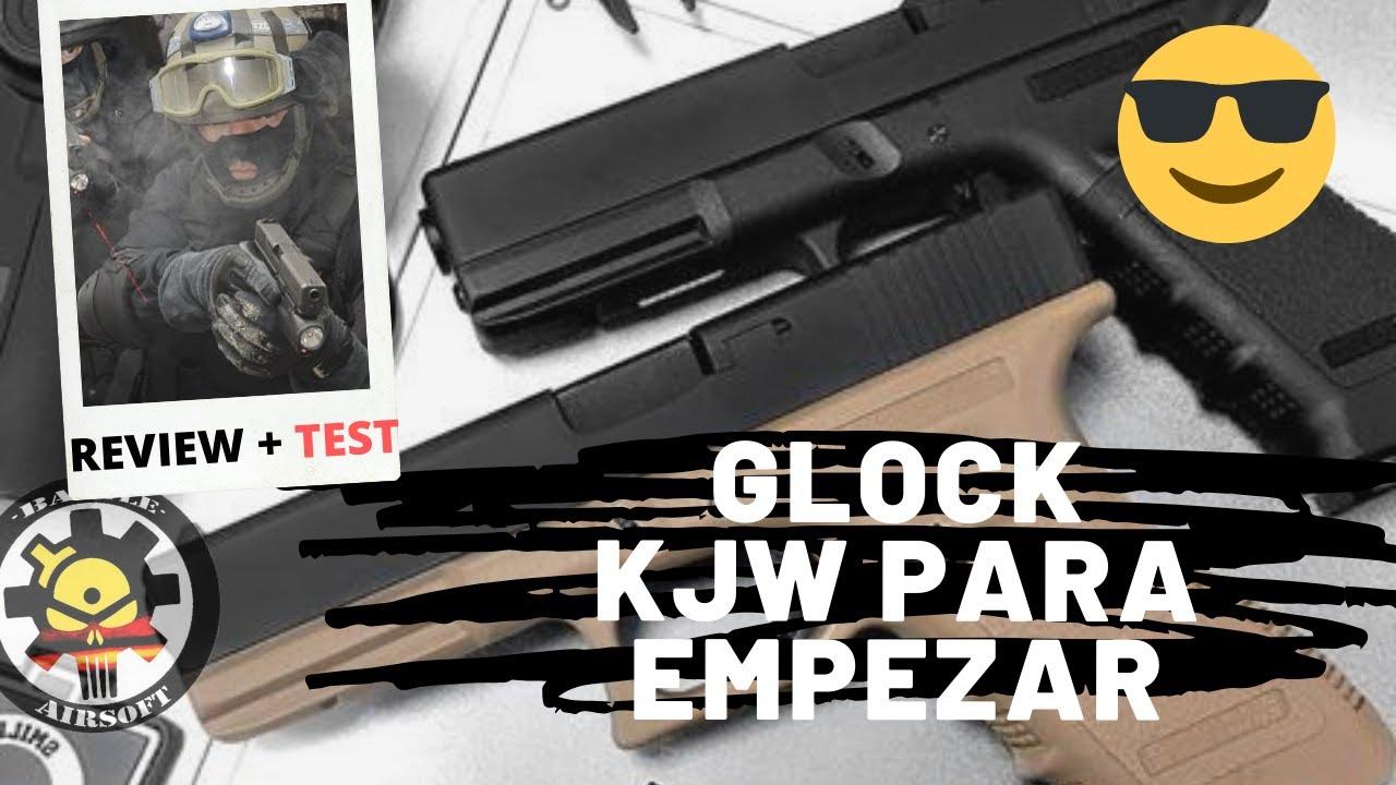 Revue Glock GAS KP-17 KJW secondaire pour débutants // Airsoft España