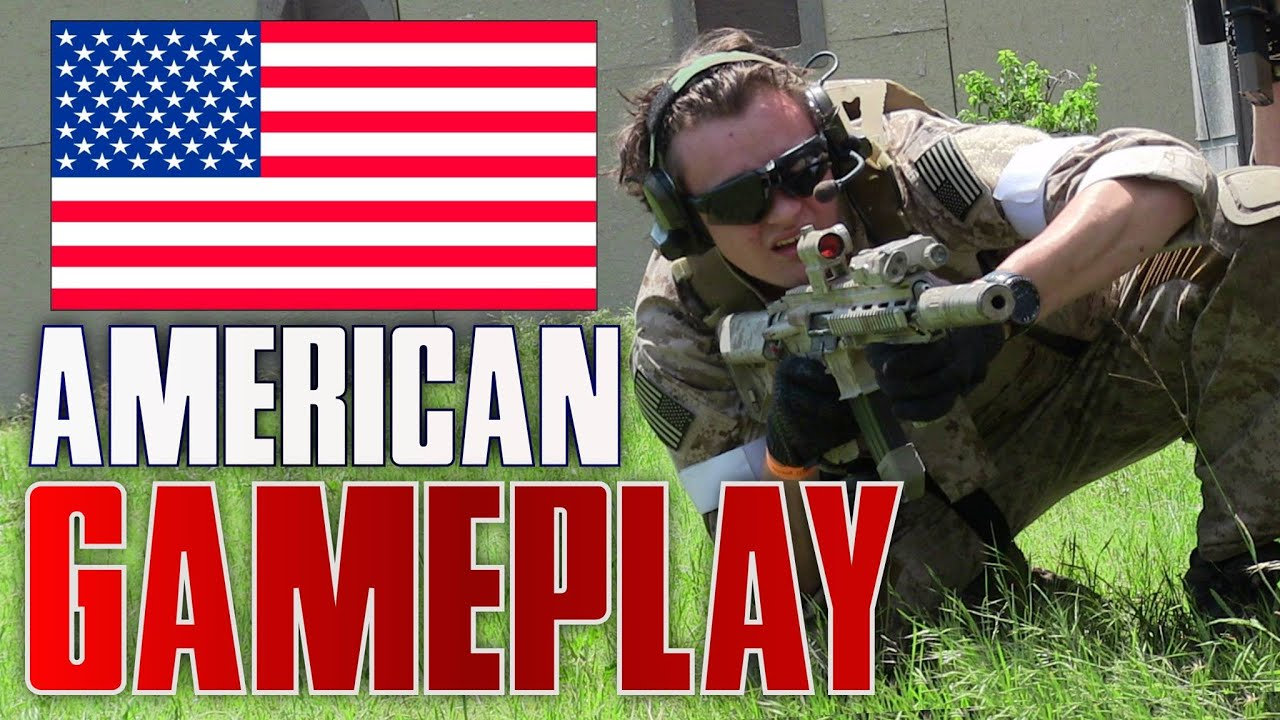 American Airsoft Gameplay à D14 Texas USA