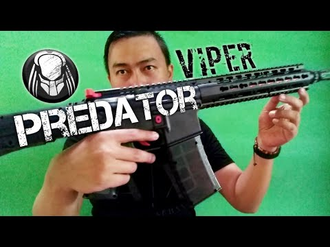 Airsoft Spring M4 Predator Viper Unboxing & Review