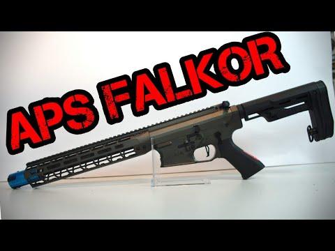 [R] APS Falkor Défense Blitz | Tom`s Airsoft Channel