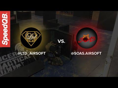 LTD Airsoft vs SOAS   SpeedQB Key Match Up