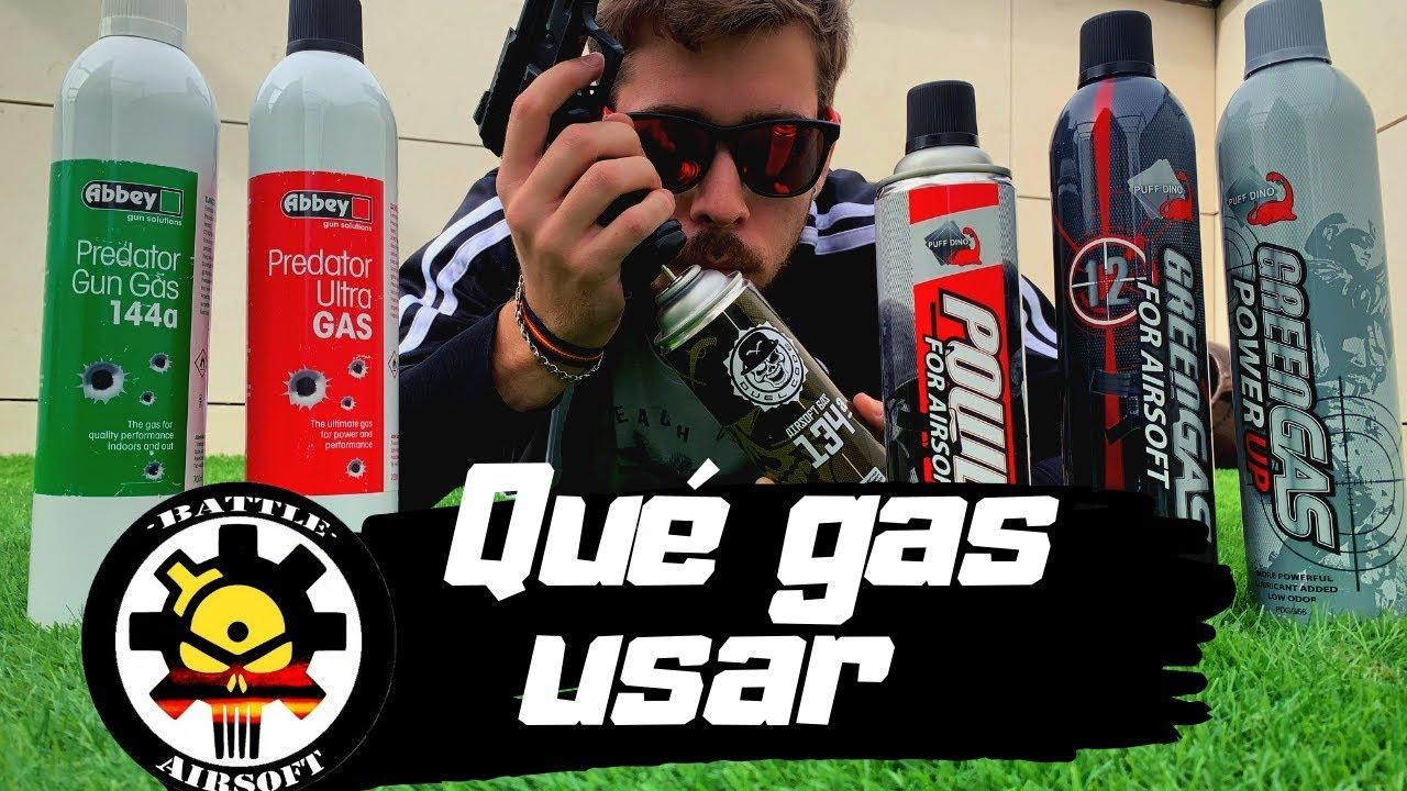 Quel GAZ UTILISER dans votre réplique? Hiver et été // ESPAGNOL AIRSOFT