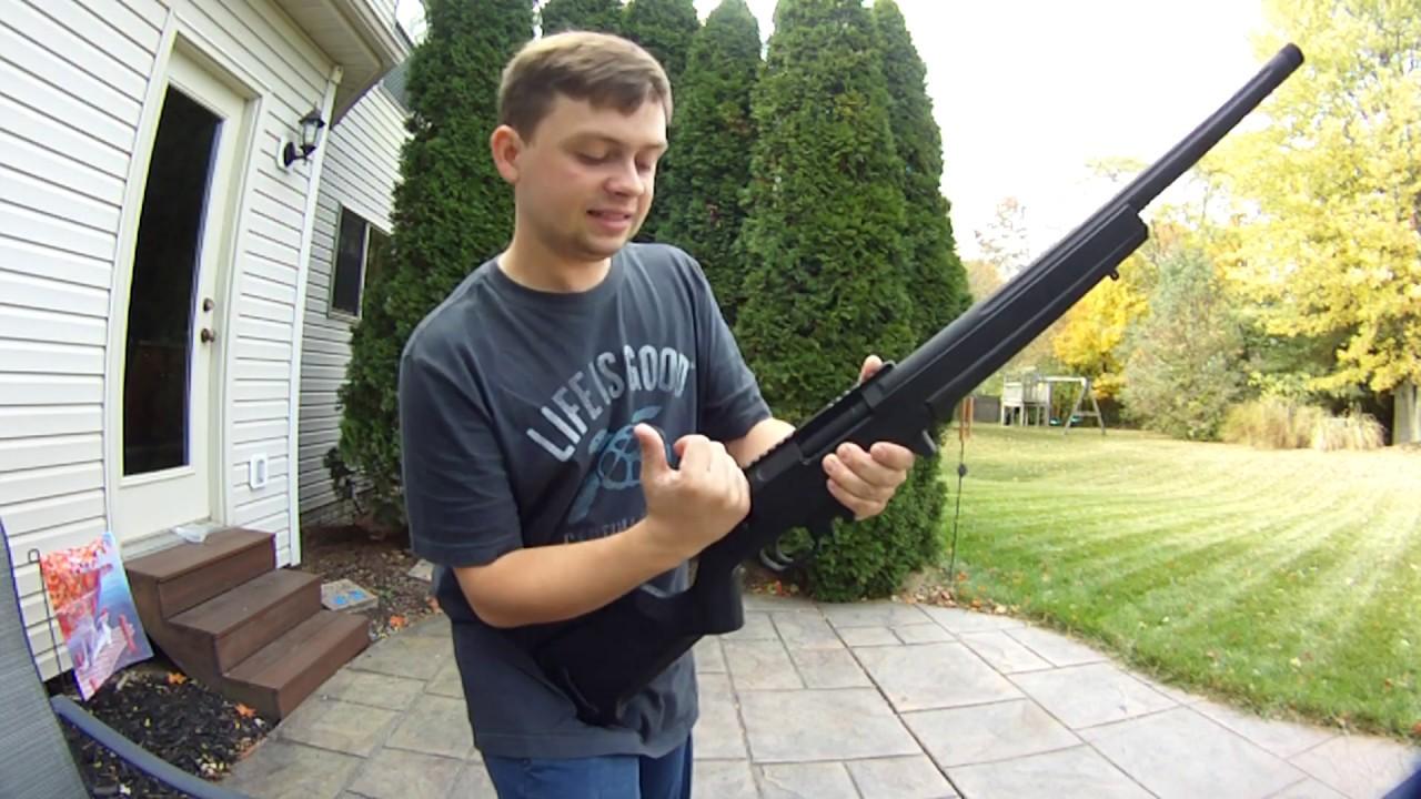 Revue du fusil de sniper ARES Amoeba Stryker et test de tir