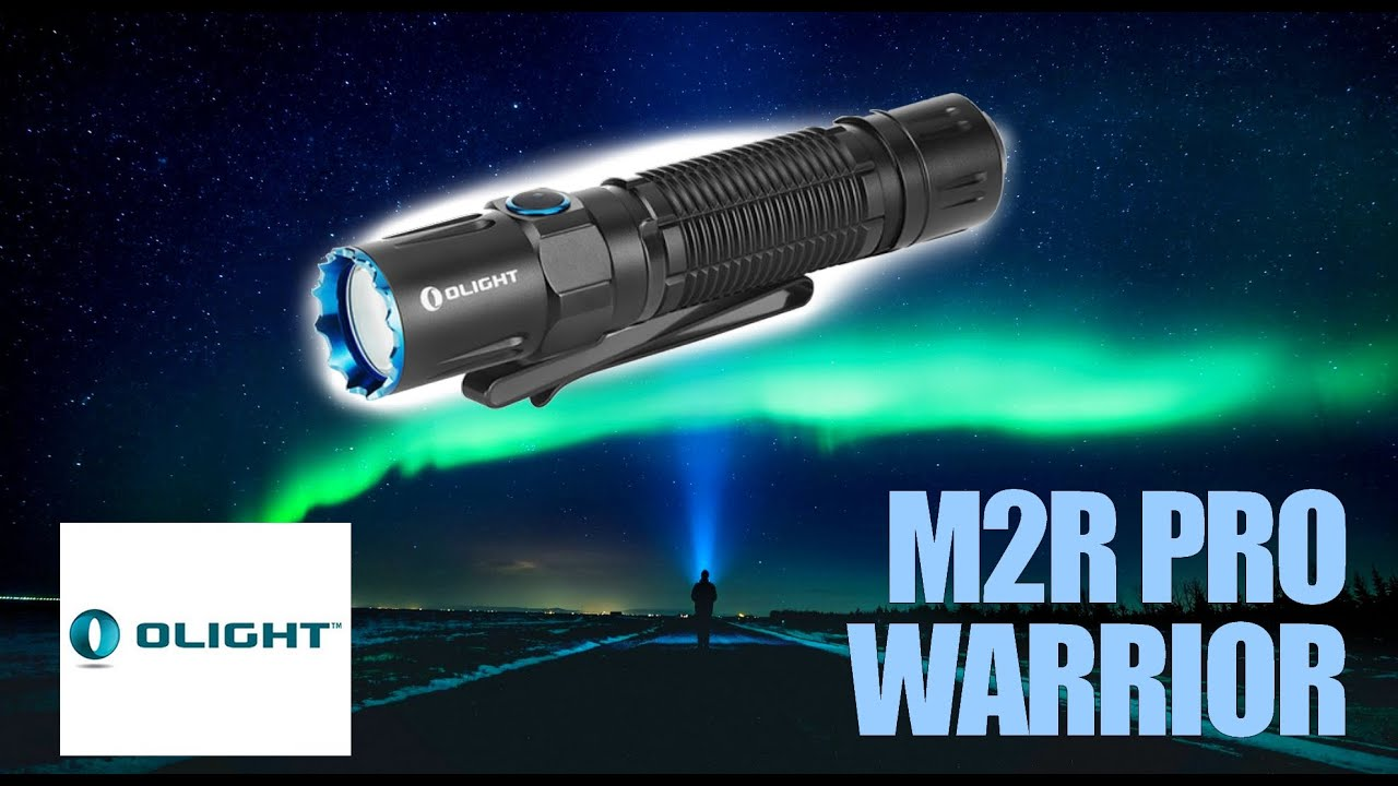 Unboxing REVIEW / OLIGHT M2R Pro WARRIOR