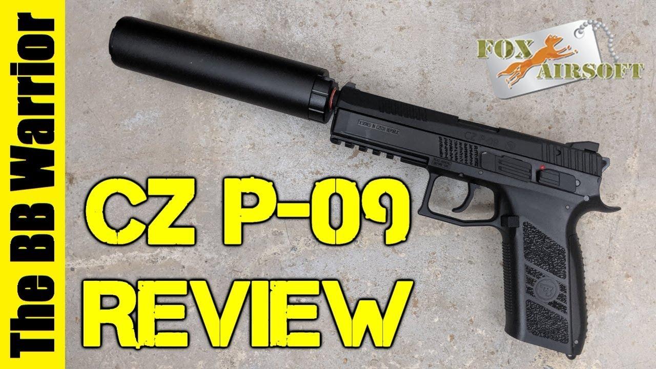 Le MEILLEUR pistolet Airsoft à moins de 130 $? | ASG CZ P-09 Test