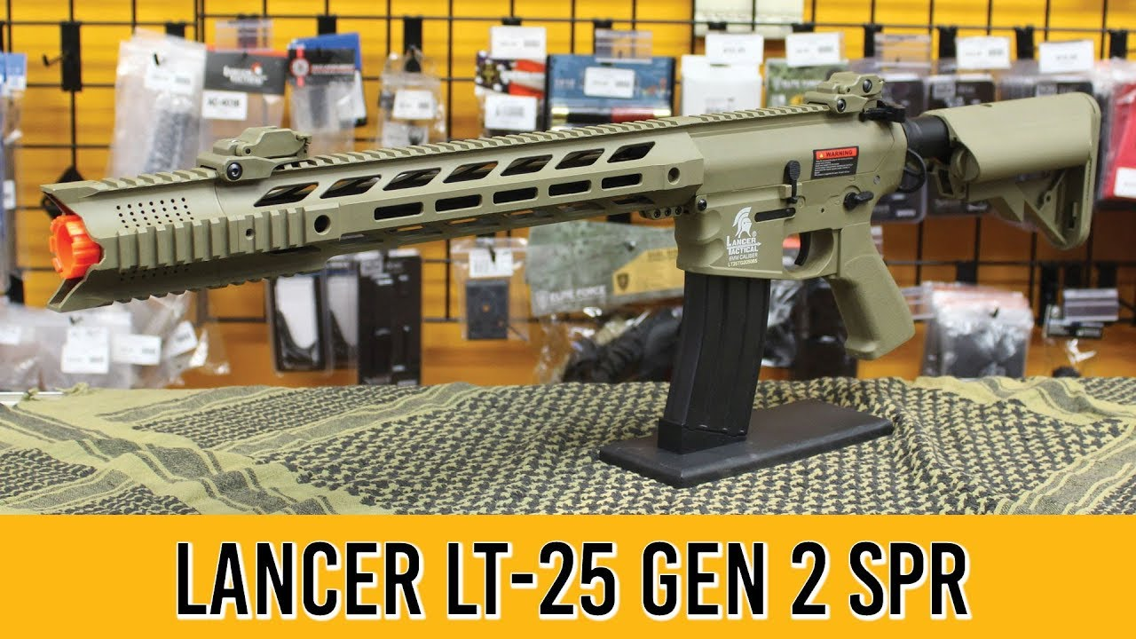 Revue du pistolet intercepteur Airsoft LT-25 Gen 2 de Lancer Tactical