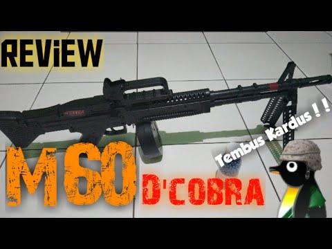 Avis sur le AirsoftGun Spring M60 D & Cobra []AIRSOFT INDONESIE[]
