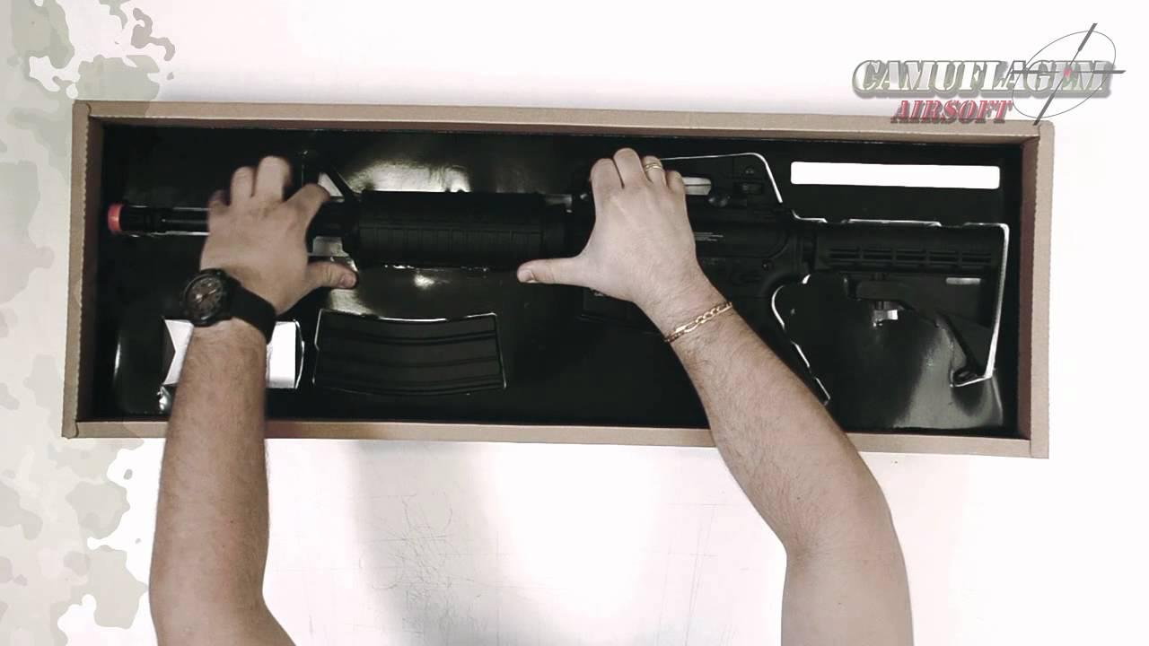 Airsoft Test Colt M4A1 par Cyber Gun