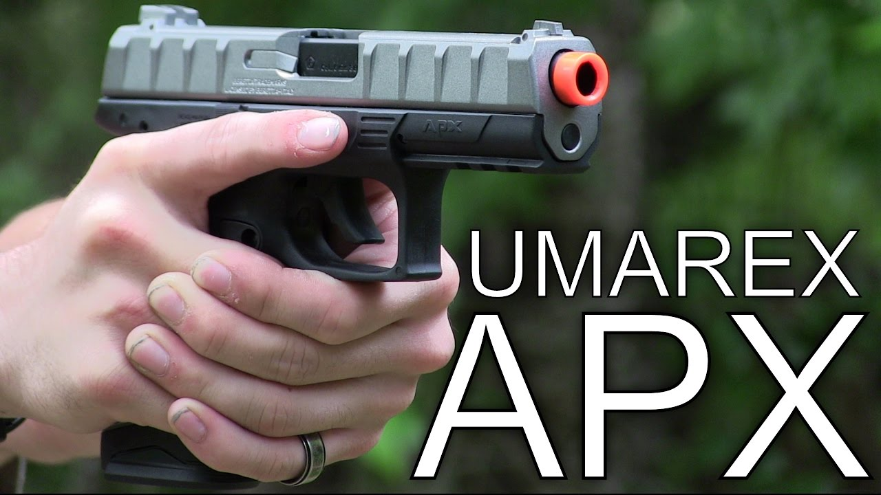 Airsoft Test du Pistolet Co2 80 $ Umarex Beretta APX – Station Airsoft