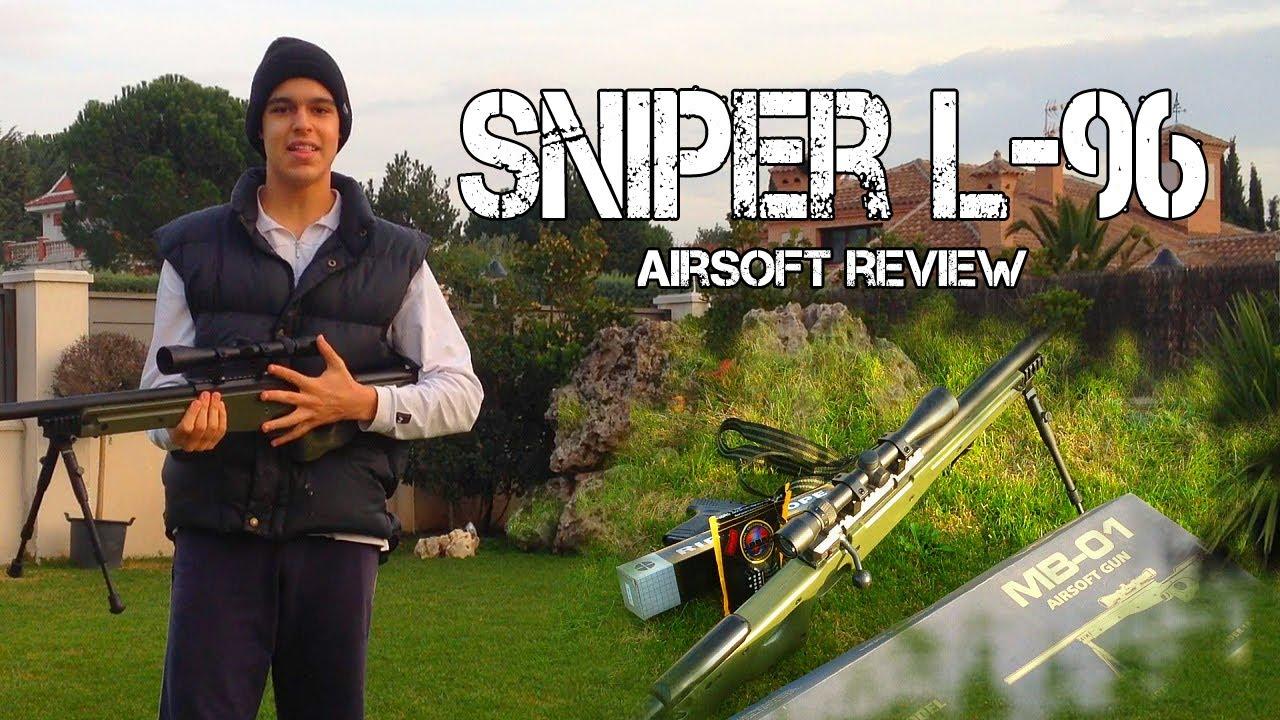 Review L96 airsoft + Test de tir