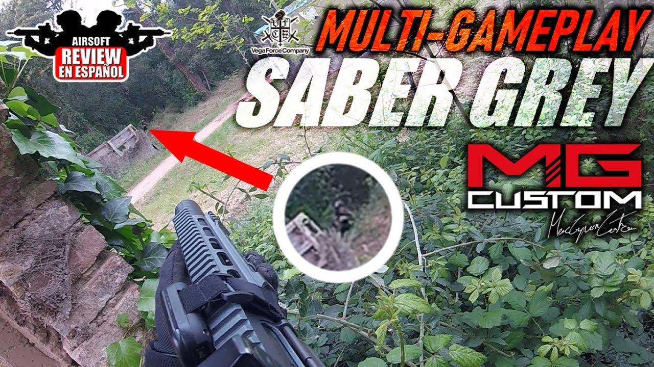 MULTIGAMEPLAY VR16 Know SD Urban Grey de: MacGyver Custom | Airsoft Review en espagnol